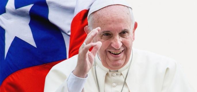 Resultado de imagen para visita del papa a Chile