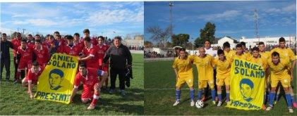 Se recordó a Daniel Solano en la final de futbol de la Liga Avellaneda