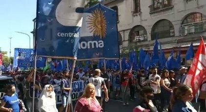 Organizaciones sociales y políticas se movilizan por la libertad de Milagro Sala y Luis D'Elía