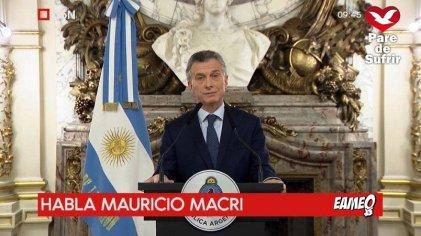 """La victimización de Macri: """"Fueron los peores 5 meses de mi vida después de mi secuestro"""""""