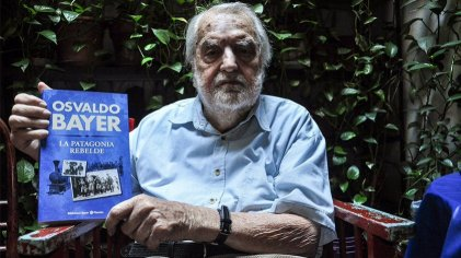 Homenaje a Osvaldo Bayer a dos años de su muerte y cien de La Patagonia rebelde