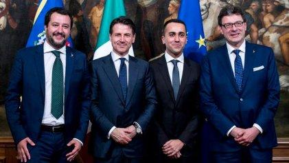 Italia: Conte jura como primer ministro de la derecha euroescéptica