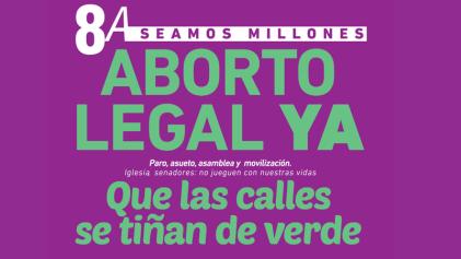 Que las calles se tiñan de verde por el aborto legal