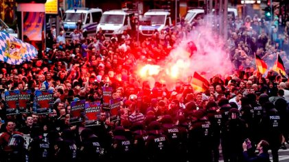 Miles de fascistas salen a cazar inmigrantes y militantes de izquierda en Alemania
