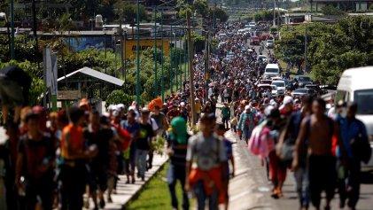 Trump declara emergencia nacional y prepara el Ejército contra la caravana migrante