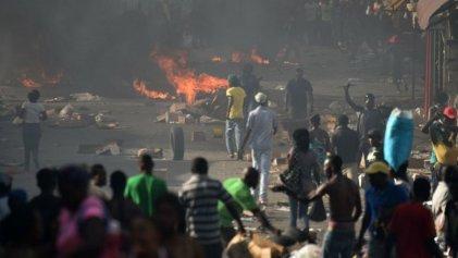 Tercer día de huelga general en Haití contra el Gobierno y la corrupción