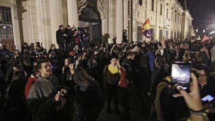 Miles de personas salen a la calle en Andalucía en repudio a la extrema derecha