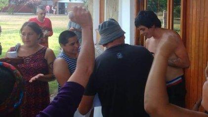 Tras largas horas detenido, integrante de comunidad Cushamen, fue liberado