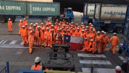 Los portuarios de Valparaíso retoman la lucha con bloqueos y amenazas de paro