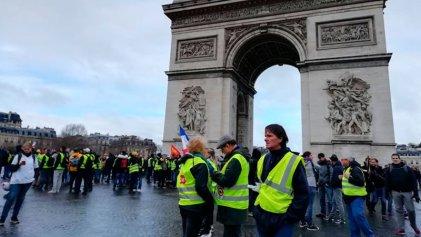 [Crónica] La Francia profunda tiñó de amarillo las calles de París
