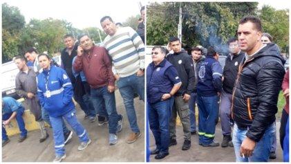Urgente: patota de la UOM agrede a despedidos y amenaza golpear a mujeres
