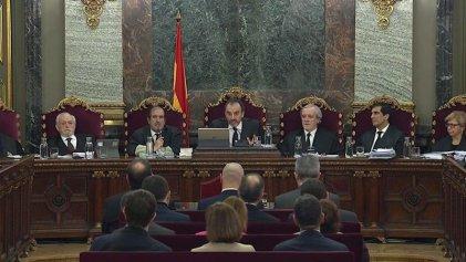 Últimos días del juicio farsa a los dirigentes catalanes