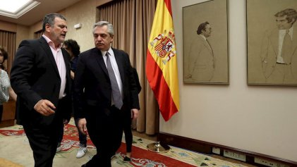 Alberto Fernández se reunió con Pedro Sánchez y empresarios españoles