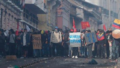 Las protestas en Ecuador mantienen la presión contra el Gobierno