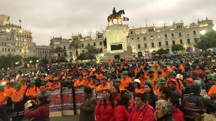 #27N: trabajadores mineros de Perú van a la huelga nacional ante abusos patronales y la complicidad del Gobierno