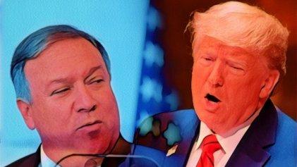 Pompeo y Trump anunciaron que fortalecerán su intervención sobre América Latina