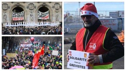 Francia: Navidad sin tregua, bailarinas en huelga y un fondo de lucha millonario