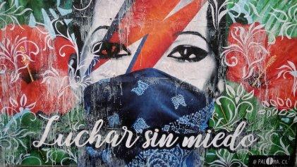 Las calles de Chile como museo de la revuelta: el arte de Paloma Rodríguez