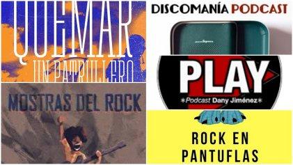 Cinco podcast sobre rock para hacerle frente a la cuarentena