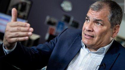 Condenan y proscriben a Rafael Correa en Ecuador en medio de la crisis del coronavirus
