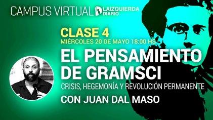 Hoy finaliza el curso El pensamiento de Gramsci: crisis, hegemonía y revolución permanente