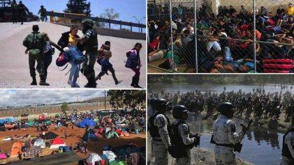 A un año del acuerdo migratorio México-EE. UU. se realiza una nueva caravana frente a la crisis humanitaria