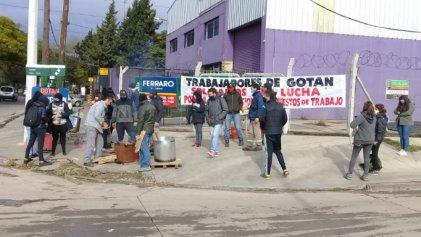 Nueva olla popular de Gotan en el Parque Industrial de Burzaco