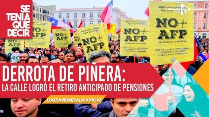 Chile vuelve a ser noticia por el uso de los fondos de las pensiones