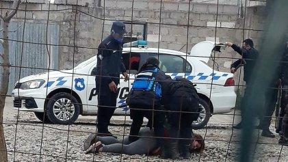[Video] Represión a familias que reclamaban por un techo en Jujuy