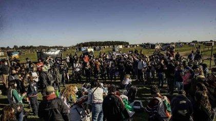 Guernica no está sola: la izquierda y los sectores combativos llevaron solidaridad a las familias en lucha