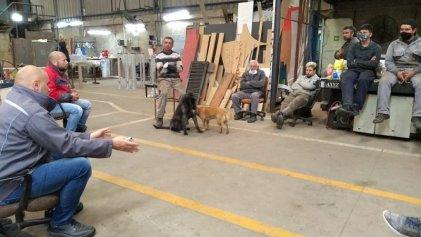 [VIDEO]: Trabajadores de Cooperativa Gotan avanzan en la pelea por la expropiación