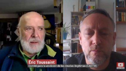 """Toussaint: """"La estrategia de Fernández con el FMI va en contra del pueblo argentino"""""""