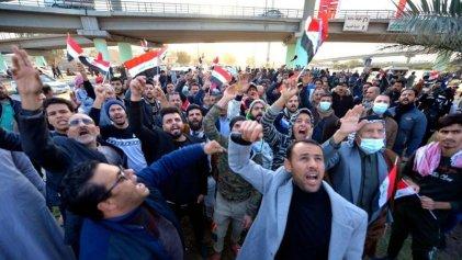 Protestas en Irak contra la devaluación de la moneda y la inflación