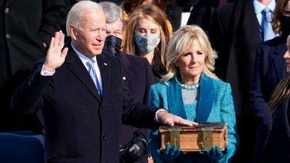 """Joe Biden: gestos y simbología """"de género"""" para ayudar a recomponer la confianza social"""