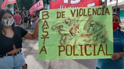 Marcharon contra la violencia policial en Jujuy