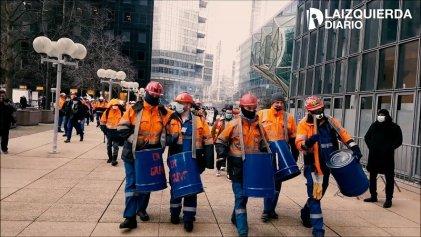 Un mes de huelga petrolera por 700 despidos en Francia