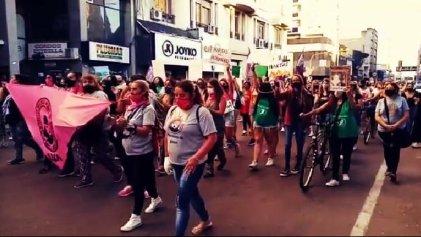 En Bahía Blanca cientos de mujeres nos movilizamos exigiendo justicia por Ursula