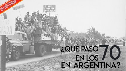 ¿Qué pasó en los 70? Un recorrido didáctico por la historia argentina