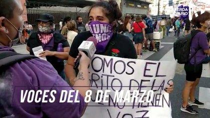 [Video] 8M: ¿cuáles fueron los reclamos en la movilización?