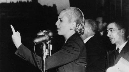 Hace 102 años nacía Eva Perón, una figura controvertida