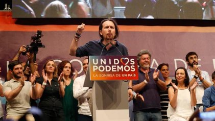 Multitudinario cierre de campaña de Unidos Podemos