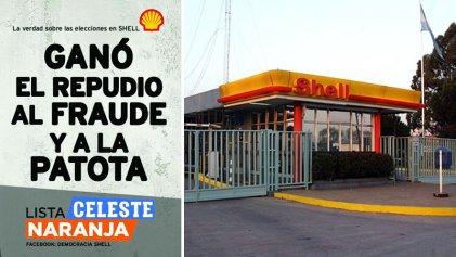 Shell: pese a las amenazas y la patota, ganó el repudio al fraude