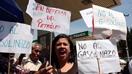 Los maestros hablan del gasolinazo