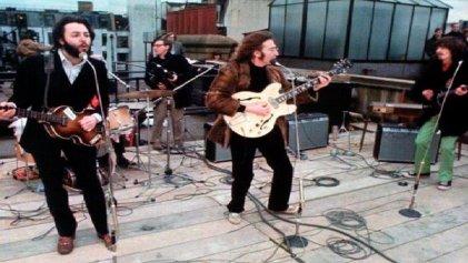 The Beatles: 48 años del recital en la terraza
