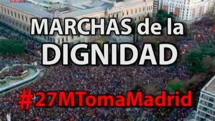 El #27M volvemos a tomar Madrid por una alternativa anticapitalista y de clase
