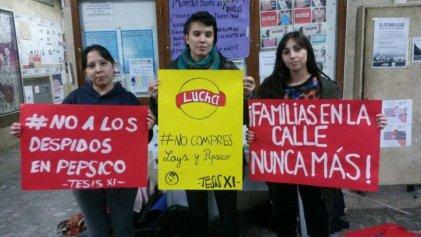 En Humanidades UNS apoyamos a los trabajadores de PepsiCo