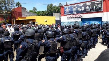 Peña Nieto fue a Oaxaca para provocar a la CNTE