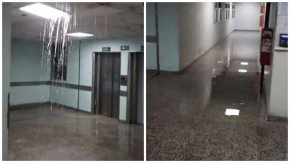 Córdoba: una vez mas el Hospital de niños no resiste la lluvia