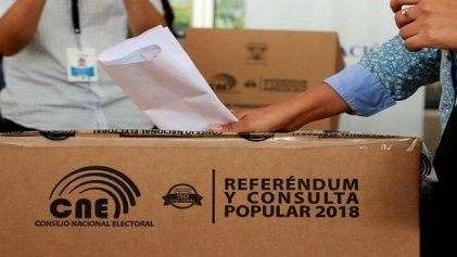 Referéndum en Ecuador: ¿qué se vota este domingo?