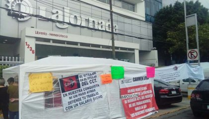 Yo sí apoyo a los trabajadores en huelga del Sitrajor de La Jornada